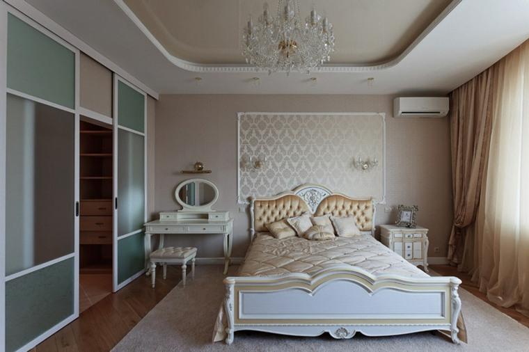Dormitorios cl sicos 42 dise os atemporales y sofisticados for Dormitorios clasicos