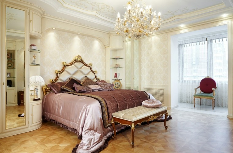 dormitorios clasicos estilo iluminacion decoracion ideas