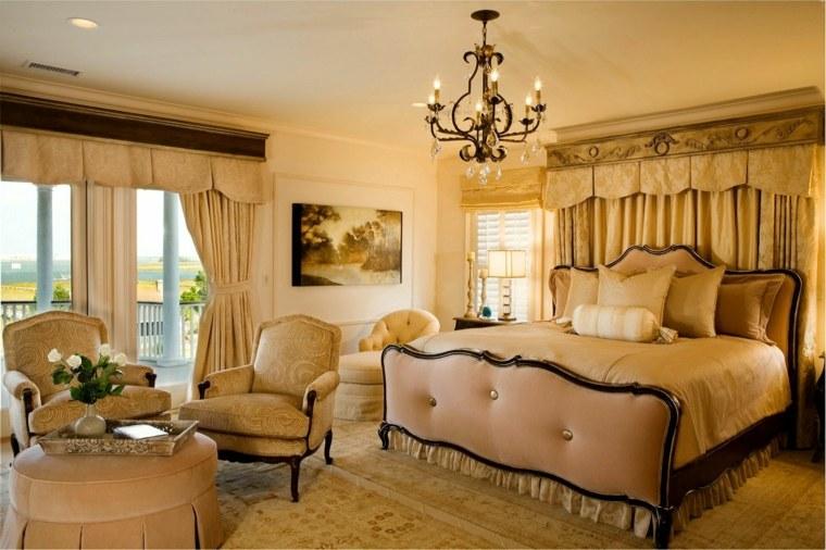 dormitorios clasicos estilo lugar lectura opciones ideas