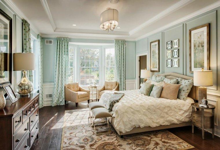 Dormitorios cl sicos 42 dise os atemporales y sofisticados - Dormitorio clasico moderno ...