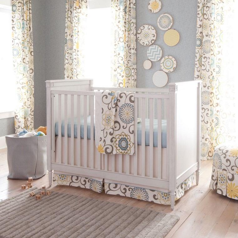 Dormitorios de bebes ideas para los m s peque os - Cortinas dormitorio bebe ...