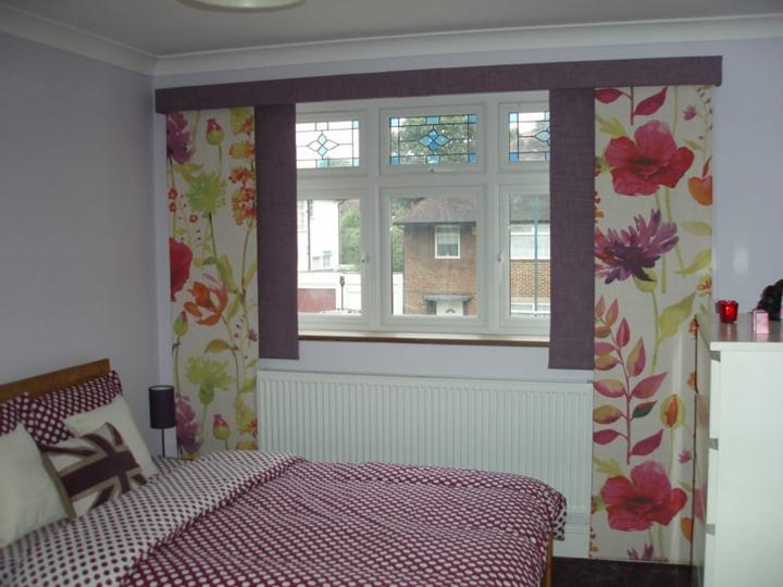 dormitorios efecto flores decoracion cojines