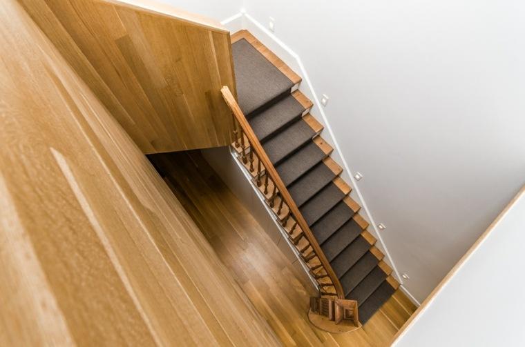 efectos escaleras vista superior alfombras