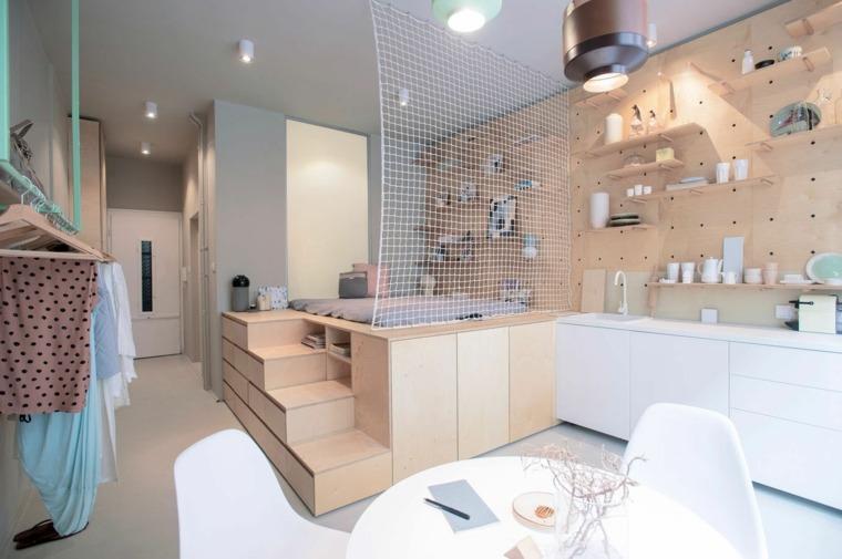 ejemplo paredes apartamento ideas red