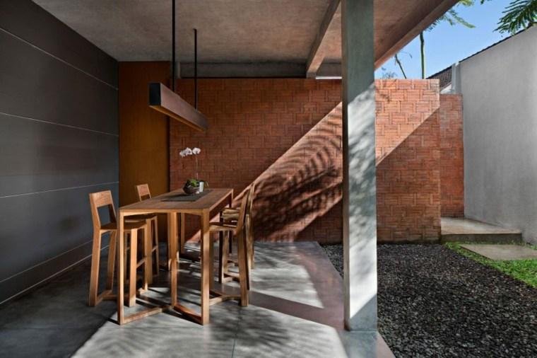 elegancia residencia sillas ambientes lamparas