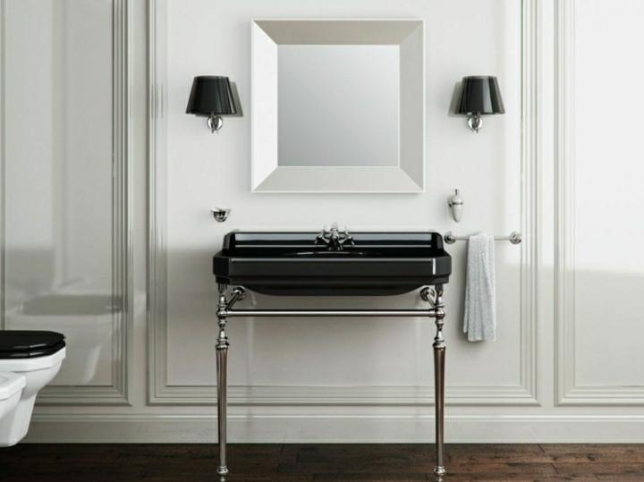 elegante vintage negro estilo lamparas