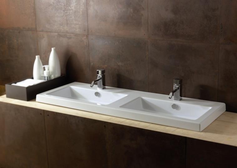 encimera baño elegante decorar