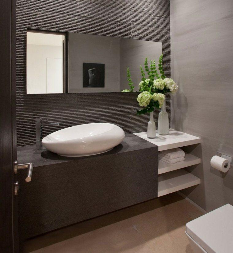 Encimeras de ba o para decorar y aumentar la modernidad - Encimeras lavabos bano ...