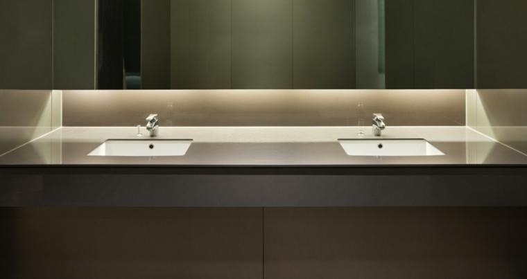 encimeras de baño modernas elegantes