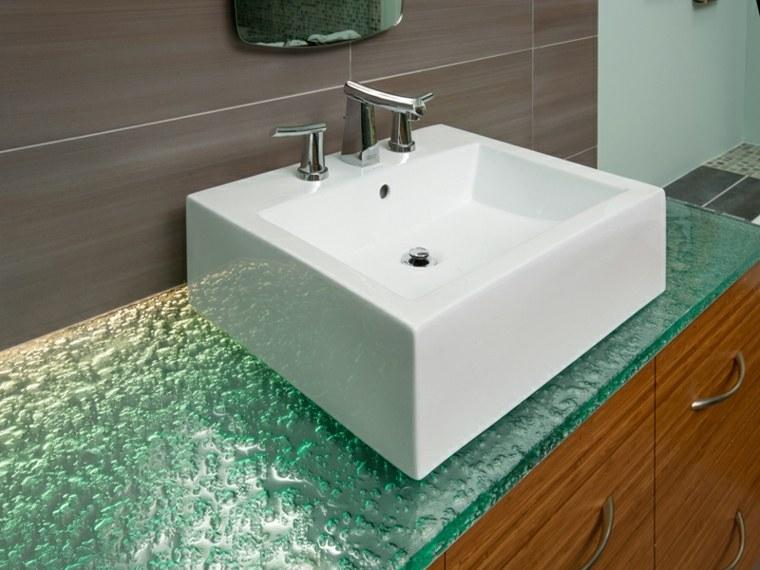 enicmeras de baño cristal modernas