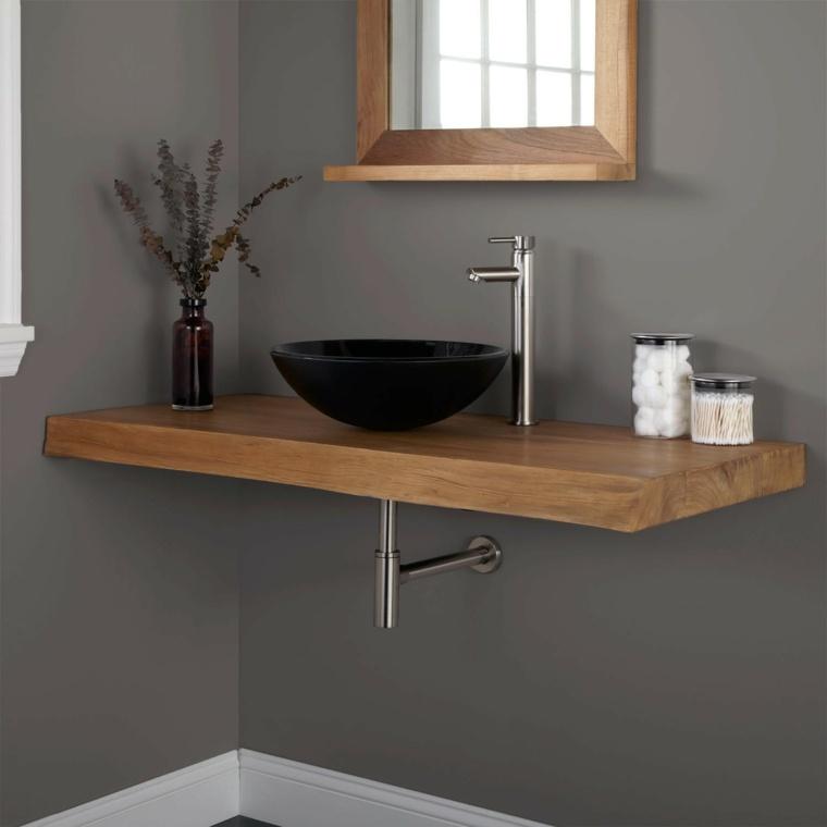 enicmeras de baño madera
