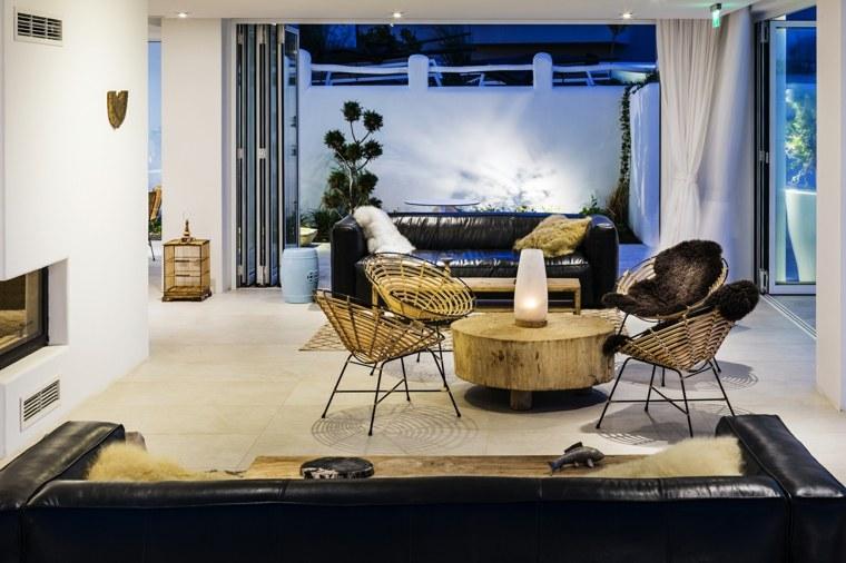 espacio salon comun moderno estilo puentes