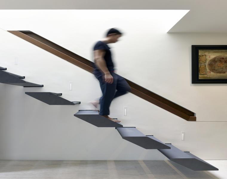 escalera original diseño peldaños