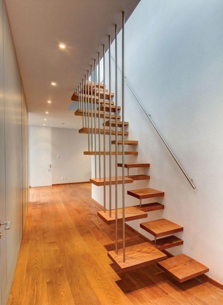 escaleras de interior diseño suelos caminos metales