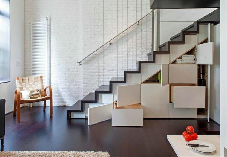 escaleras empotradas specht architects sillones