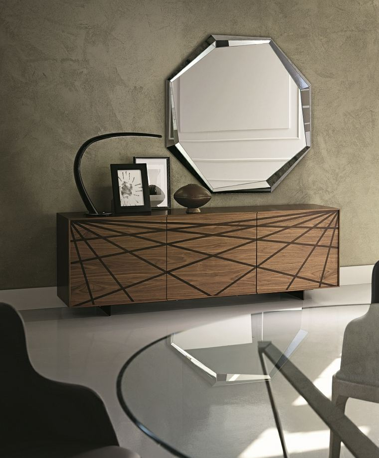 espejos modernos para recibidor