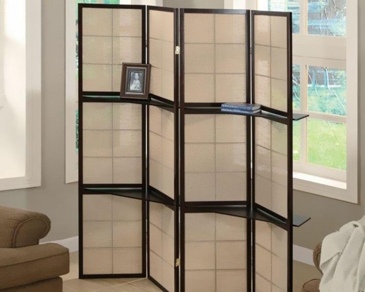 estantes incorporados mueble paraban fotos