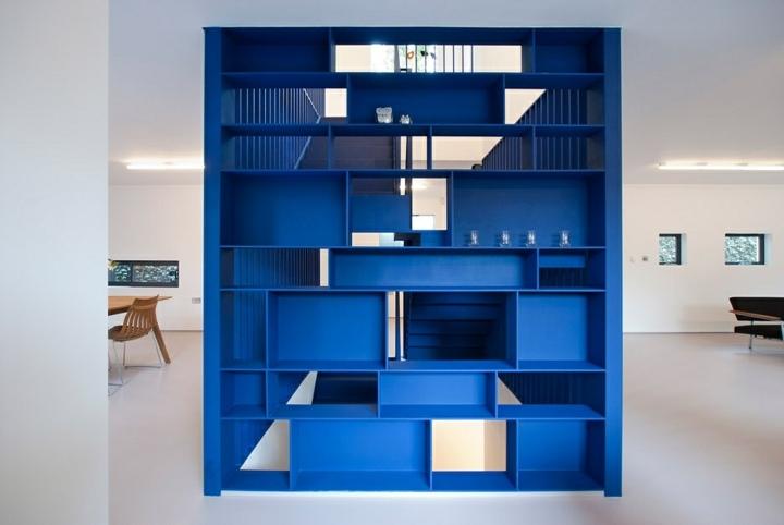 estantes muebles materiales fuentes blanco
