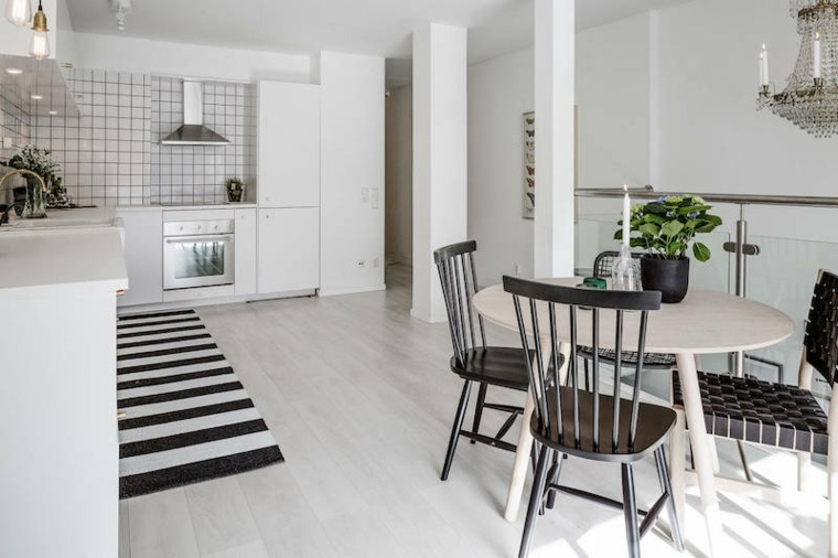 estilo escandinavo cocina