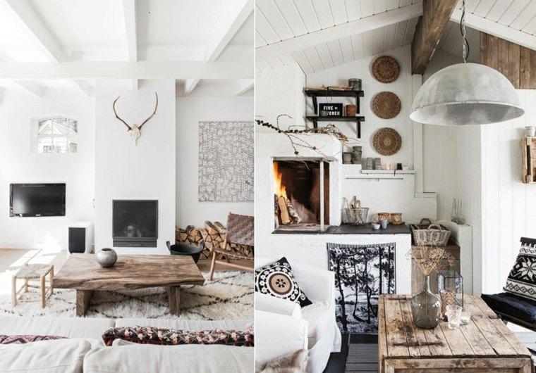 estilo escandinavo interiores casas