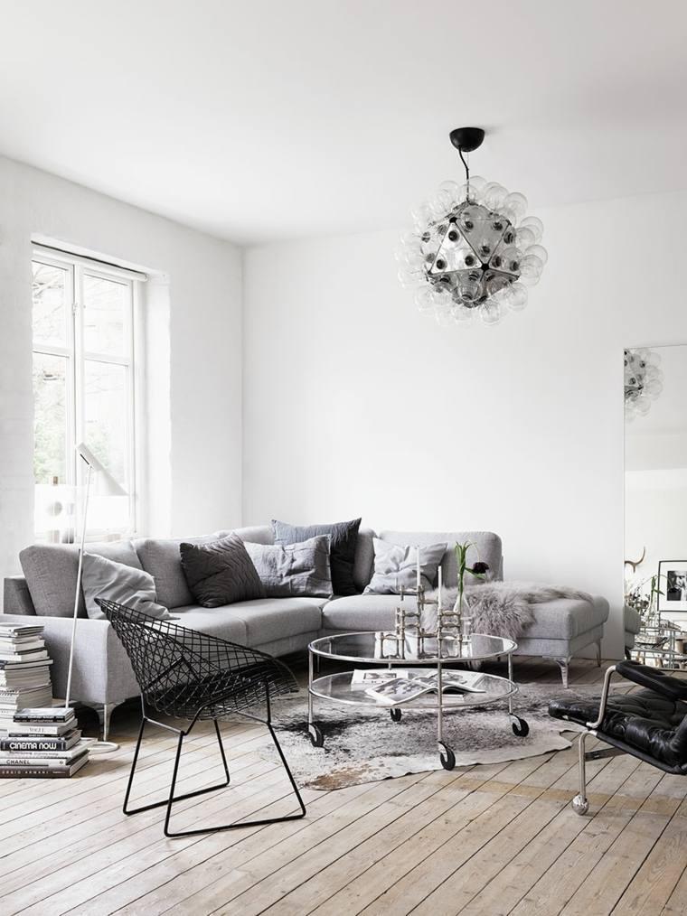 estilo escandinavo interior casa