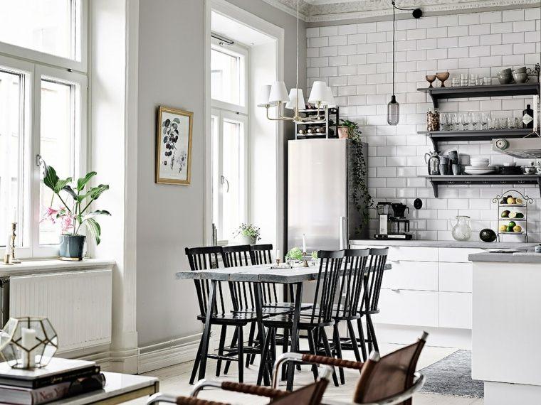 estilo escandinavo interiores