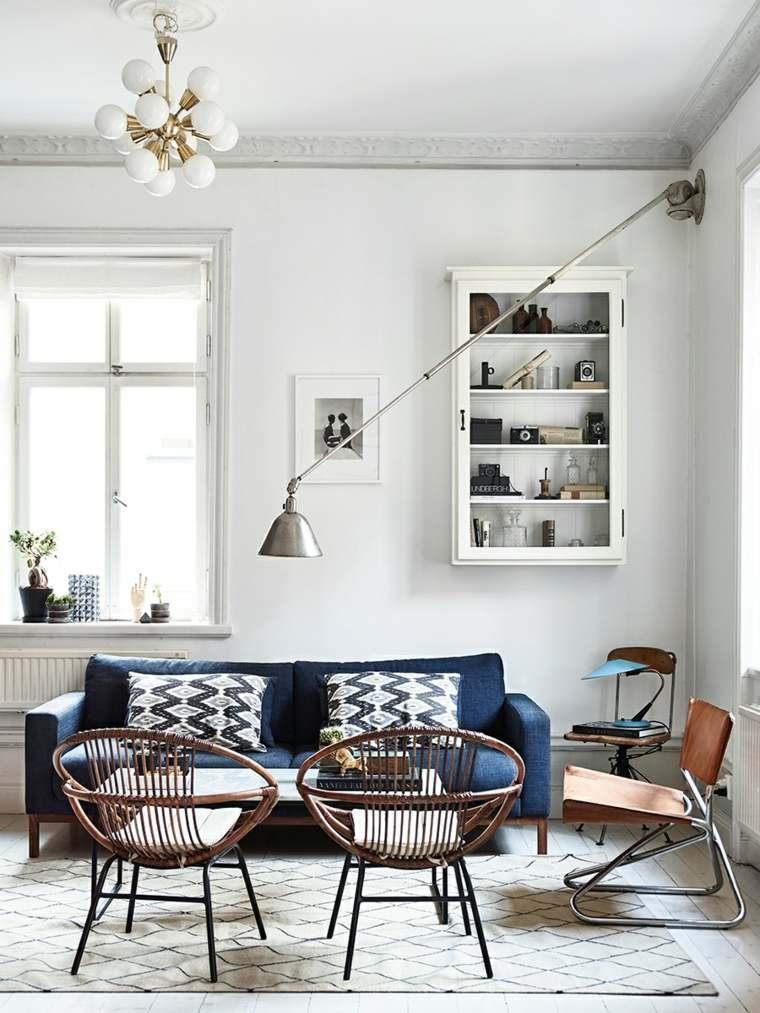 estilo escandinavo sala de estar