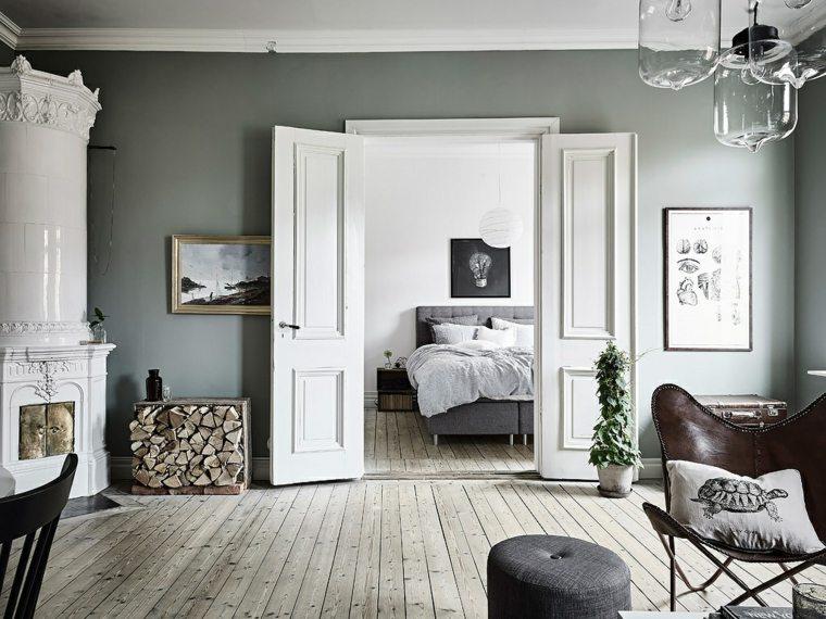 estilo escandinavo salón