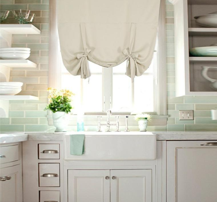 estores cocina original color claro estilo ideas - Estores Originales