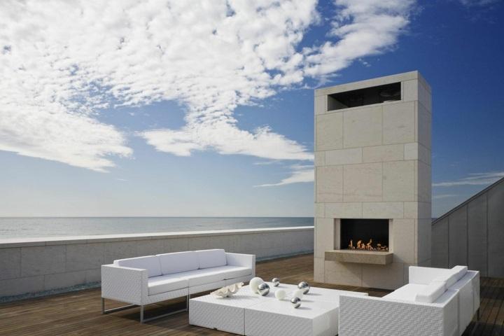 estructura terraza muebles colores sistemas