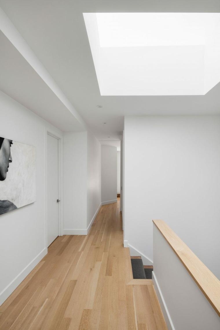 estructuras de madera paredes blancas salones