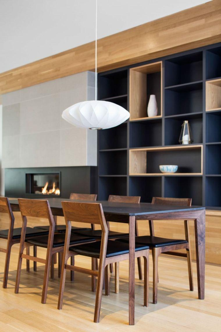 estructuras de madera suelos sillas chimeneas
