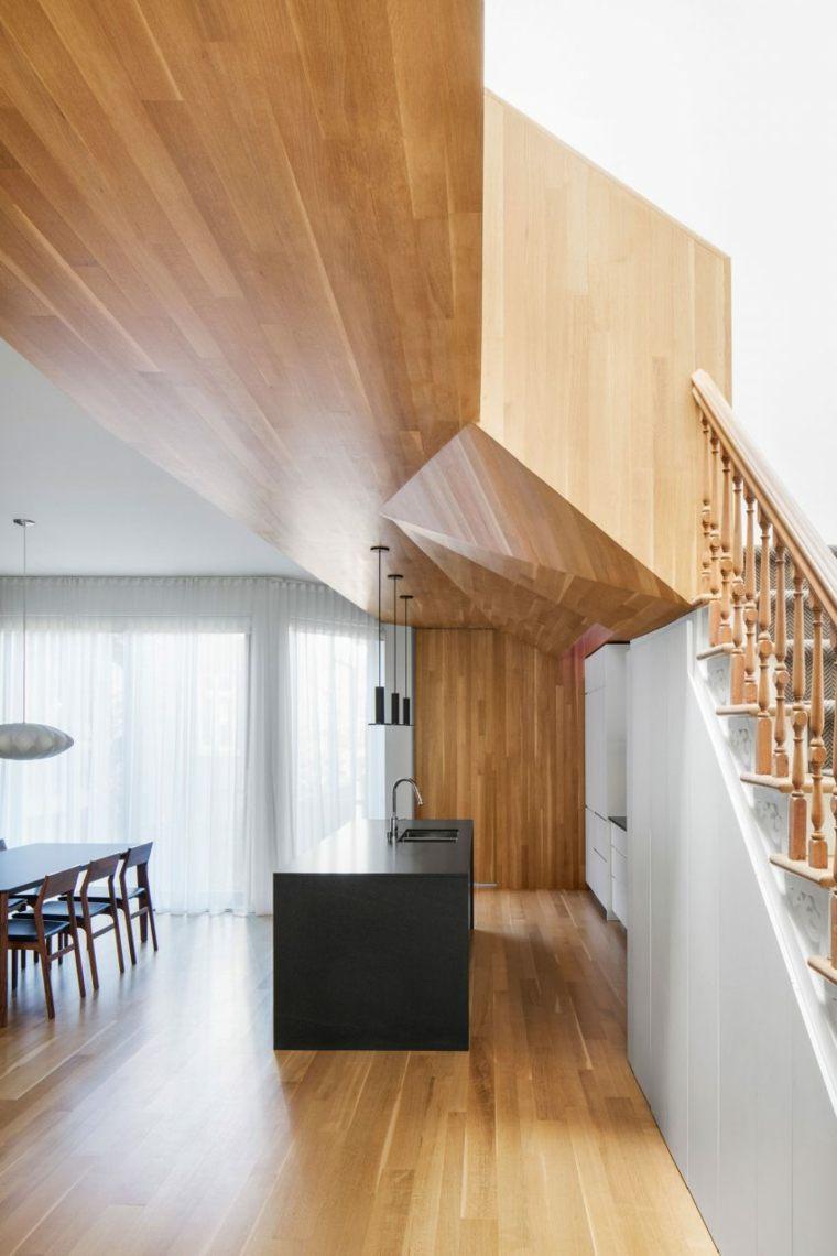 Estructuras de madera que embellecen la casa por mxma architecture - Estructuras de madera para techos ...