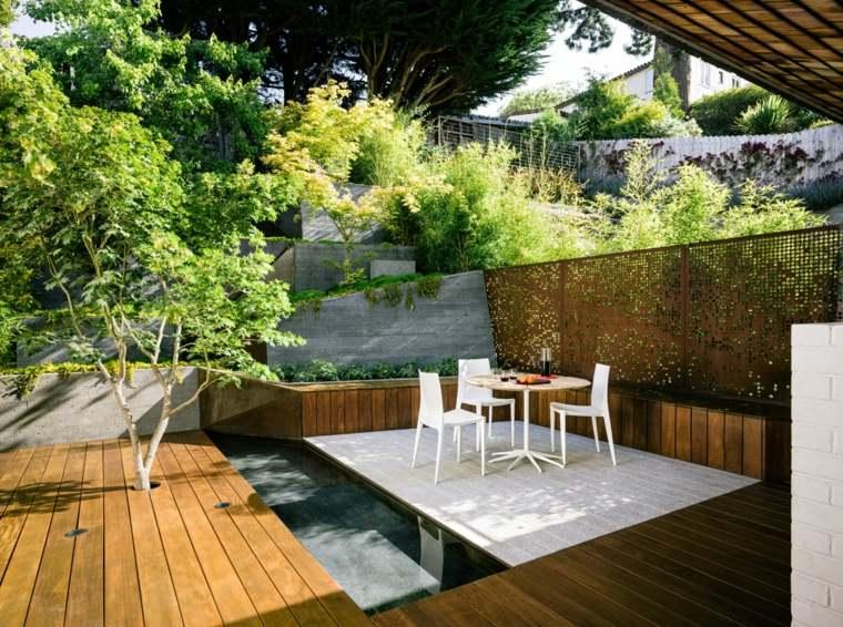 estupendo diseno jardin moderno