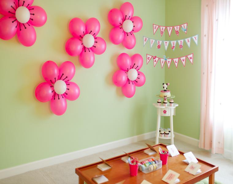 Adornos con globos ideas geniales para decorar una fiesta for Adornos para decorar