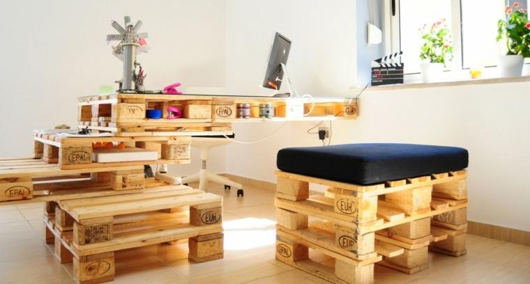 estupendas ideas para muebles europalet