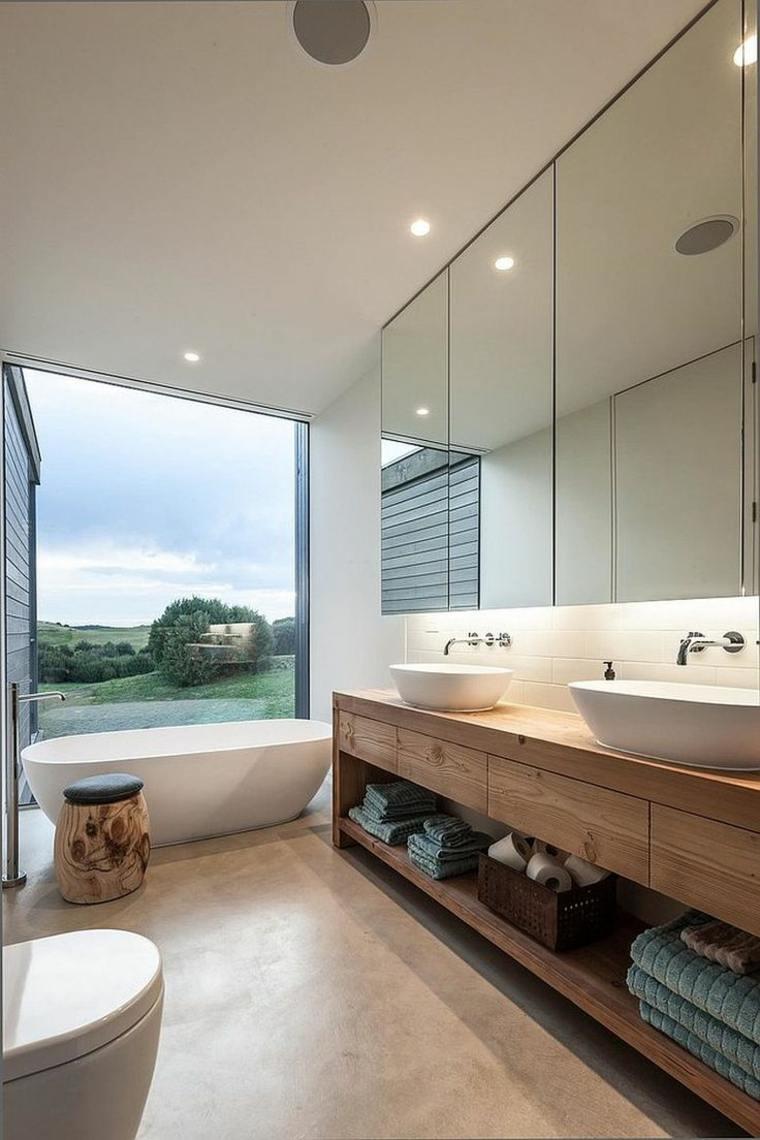 estupendo diseño baño moderno