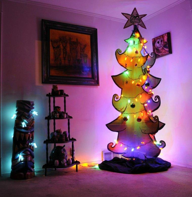estupendo diseño árbol luces