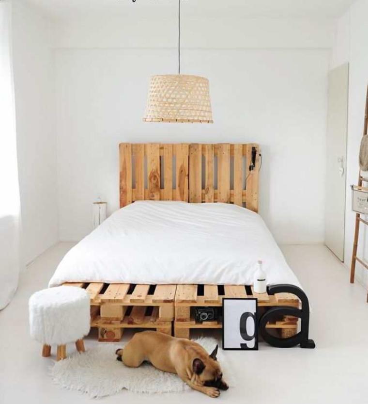 estupendo diseño cama palets