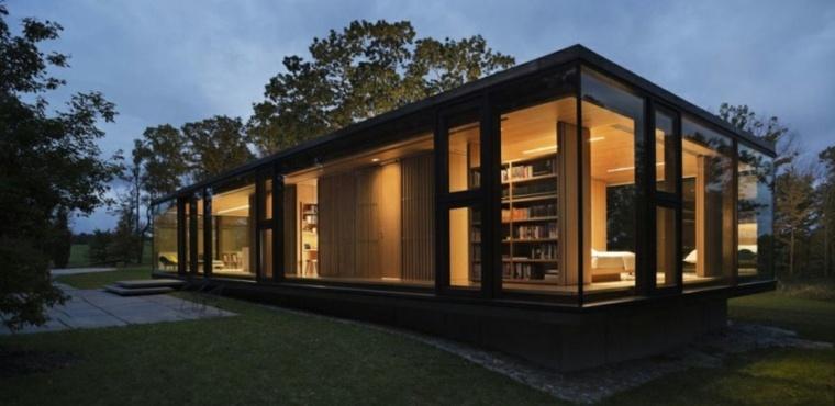 fachadas casas modernas elegantes