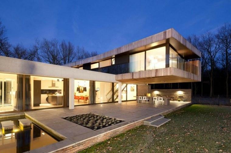 Fachadas de diseo para casas elegantes y modernas
