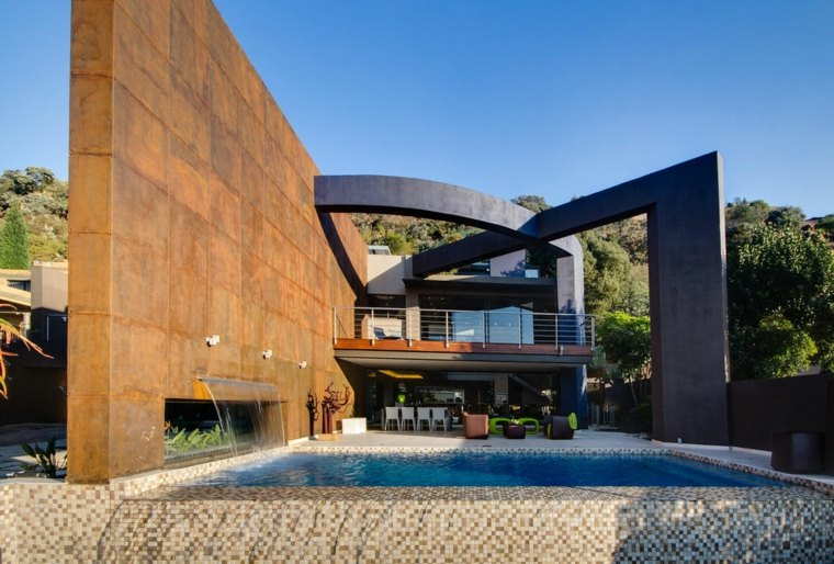 fachadas elegantes casas
