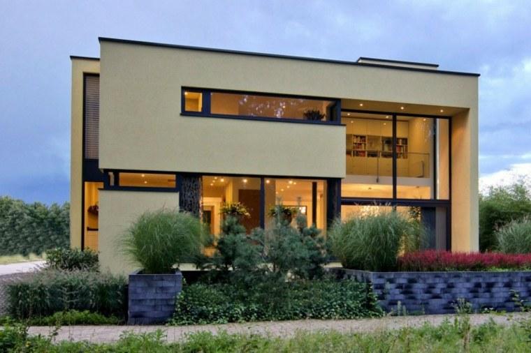 Fachadas de diseño para casas elegantes y modernas
