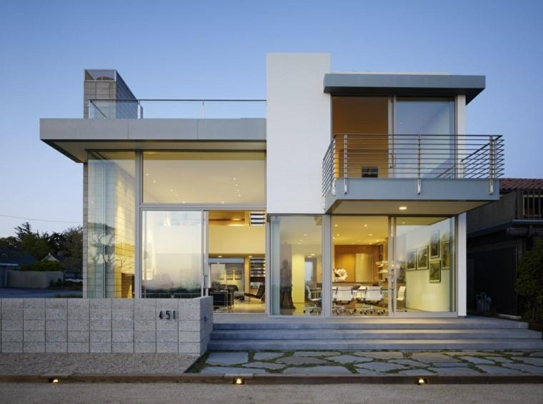 fachadas modernas casas elegantes