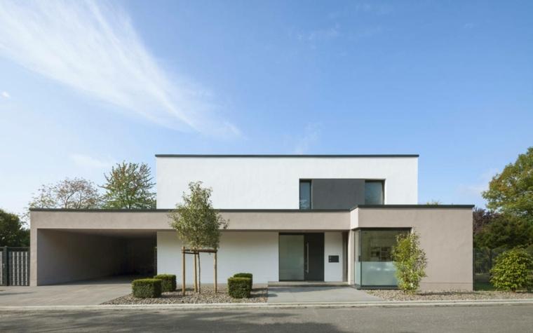 fachadas modernas decorar