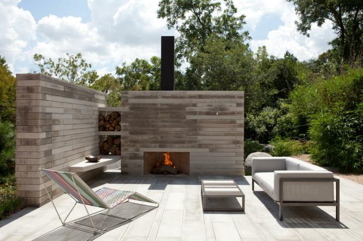 formas estilos patio exteriores salones