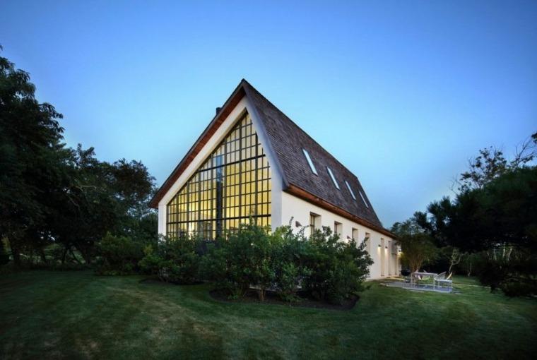 Fotos de residencias modernas una casa en hamptons for Casa moderna hampton hickory