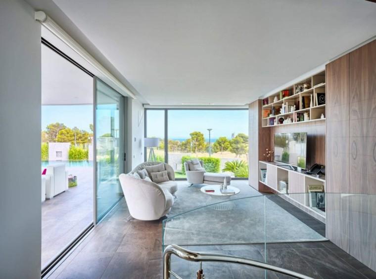 fotos de salones modernos casa finestrat gestec ideas