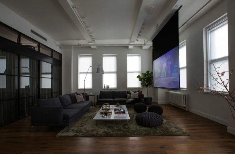 fotos de salones modernos shadow architects ideas
