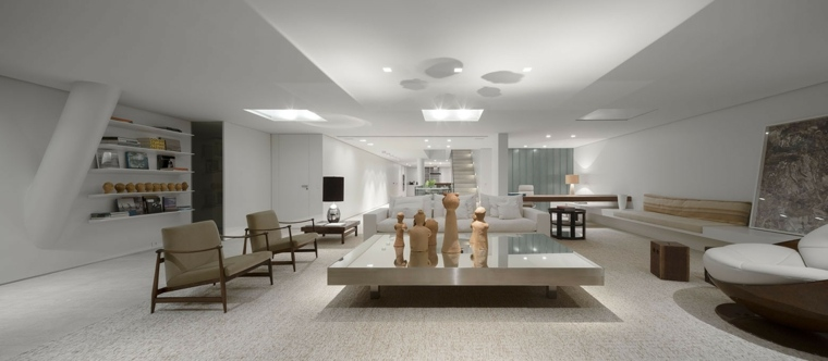fotos de salones modernos studio arthur casas ideas